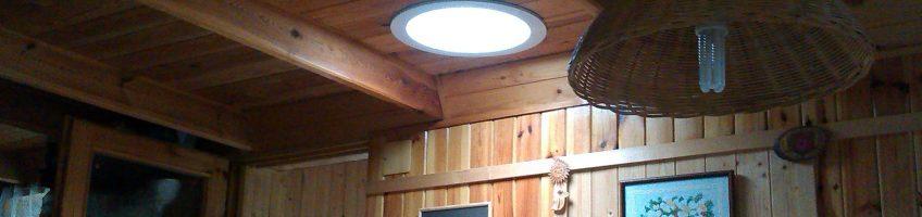 Световоды ALLUX в экостроительстве