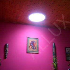 Солнечный свет в подвале с помощью световодов