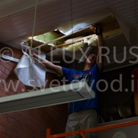 ООО «Нортия» — новый партнёр ALLUX RUS, осуществляющий профессиональный монтаж световодных комплексов