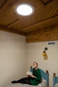 Световод ALLUX зимой в России