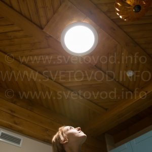 Световоды солнечного света ALLUX в Этномире