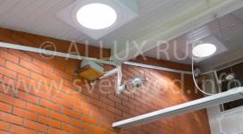 Точечные зенитные фонари со светопроводной шахтой