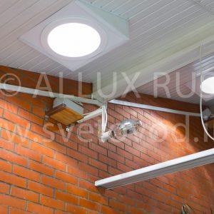 Световоды ALLUX 350, установленные в Куркино, московский регион