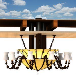 Эксклюзивные комбинированные энергосберегающие системы солнечного и электрического света ALLUX Solar Luminance