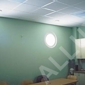 Световоды ALLUX - установка диффузора в стену