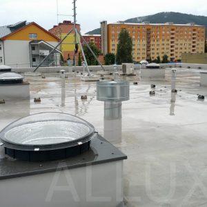 Световод ALLUX в производственном помещении
