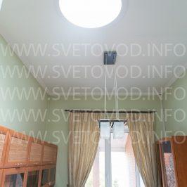 Решение задачи нехватки естстественного света в кабинете спри помощи световодаALLUXдиаметром 550мм